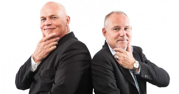 De Incassoprofessionals, zakenpartners Martin en Berry