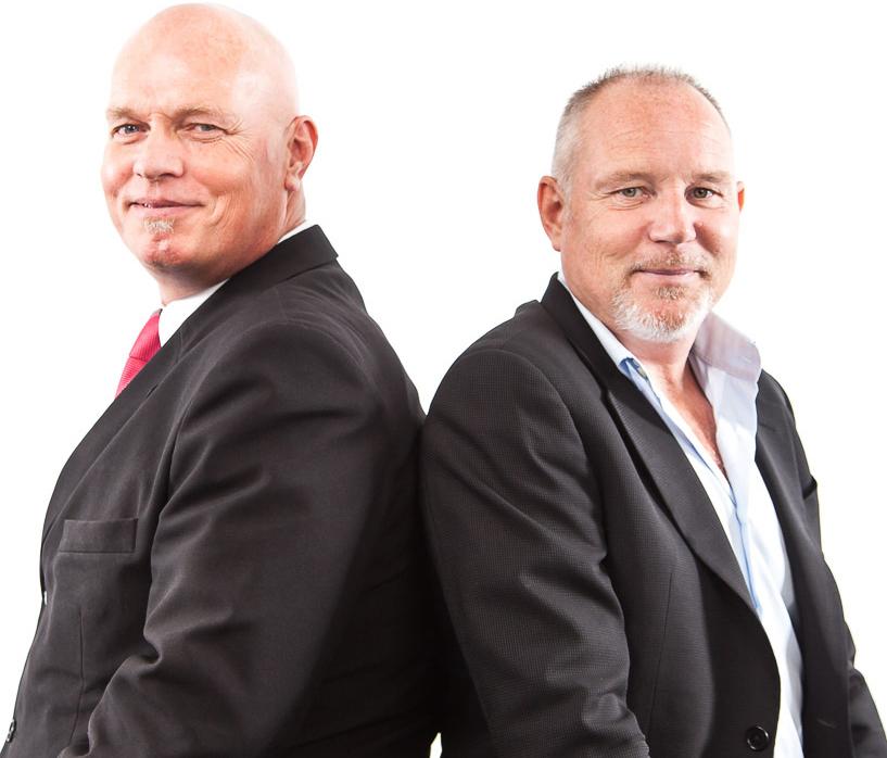Martin en Berry, van incassobureau De Incassoprofessionals in Amsterdam