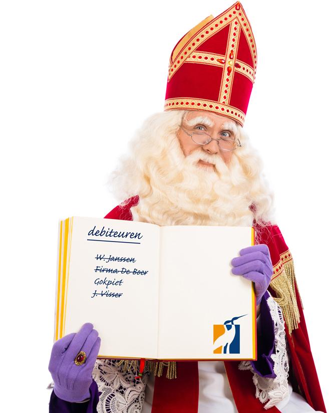 Elke dag Sinterklaas bij incassobureau De Incassoprofessionals